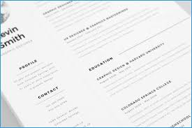 Minimalist Resume Template Free Download Best Free Clean And Minimal