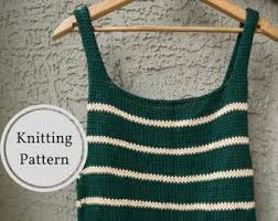 <b>Knitted tank top</b> | Etsy