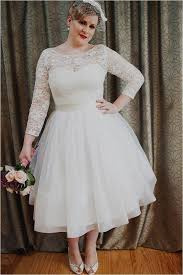 plus size wedding dresses with sleeves tea length plus size lace tea length wedding dresses naf dresses