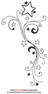 Small Picture Shooting Star Tattoo Designs And Meanings Shooting Star Tattoo