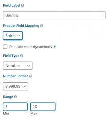 How To Set a Min/Max Quantity on Single Product Fields in Gravity Forms -  Gravity Wiz
