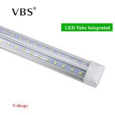 2 Feet Led Light Us 1 04 40 Off V Shape Integrated Led Bulbs Tubes T8 570mm 20w 2 Ft Led Tube Light 2feet Ac85 265v 96leds Smd2835 Led Light Super Bright 2000lm In