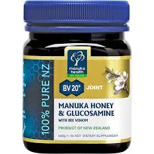 Manuka Health Manuka Honey With Glucosamine Bee Venom