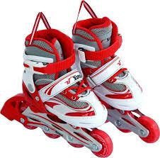 Vinex Vinex Inline Skates Stylus Adjustable Red White