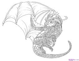 Fancy Cool Dragon Coloring Pages 78 For Coloring Print With Cool Cool Things To Print And Color L