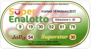 Whether you just matched the superstar or you think you may have won the jackpot, you'll find out everything you need. Lotto Draws Today And Superenalotto Numbers On Tuesday 16 February 2021 Archyde