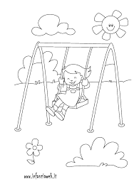 Disegni Da Colorare Categoria La Mia Giornata Immagine Bambino
