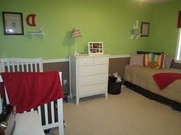 Brown Wooden Laminated Floor Baby Boy Bedroom Themes Red Purple ...