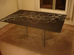 picture of enjoy your custom etched table