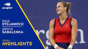 Nina Stojanovic vs Aryna Sabalenka ...