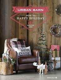 The Urban Barn 2016 Holiday Catalogue