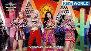 Music Bank K Chart 2018 Music Bank K Chart 2nd Week Of March Mamamoo Kim Sung Kyu 2018 03 09