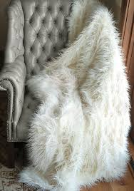 picture 3 of 38 shearling throw blanket lovely faux fur rug