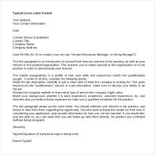 Sample Professional Cover Letter Template  Resume Cover Letter