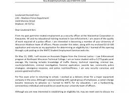 Police Officer Cover Letter Tomyumtumweb Com