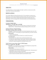 6 Resume Profile Statement Example Bird Drawing Easy