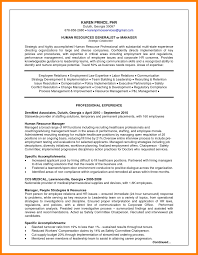 6 Human Resource Management Resume Examples Address Example