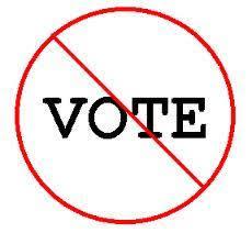 Resultado de imagen de no votes