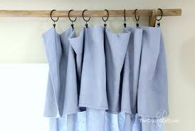 save tons of money on dry with these diy no sew drop cloth curtains