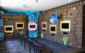 room room game. Underwater Themed Video Game Room