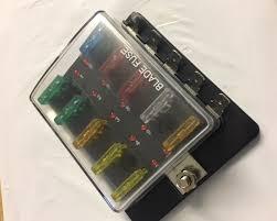 led indicating 10 way blade fuse box penguin speed shop 10 way fuse board led indicating 10 way blade fuse box