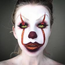 pennywise the clown scary makeup