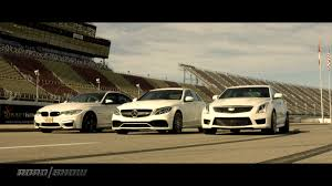 BMW Convertible bmw vs mercedes drift : Rivals: BMW M3 vs. Mercedes-AMG C63 vs. Cadillac ATS-V - Roadshow