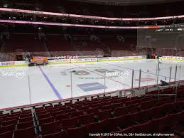 flyers arena seating chart wells fargo center section 112 seat views seatgeek