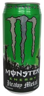 monster energy can green. Simple Can MONSTER ENERGY DRINK 32 OZ HEAVY METAL CAN  Blast Groceries Inside Monster Energy Can Green