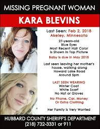 Find Missing N Pregnant Kara Blevins
