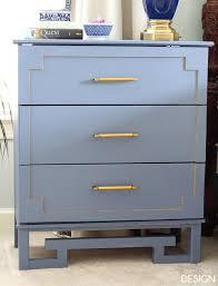 Diy ikea tarva dresser Honeycomb Ikeahack5067 Copy Deeply Southern Home Tarva Ikea Hack Greek Key Dresser