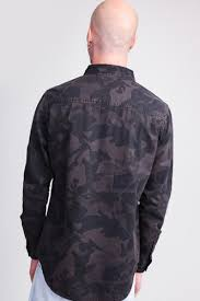 Рубашка <b>URBAN CLASSICS Camo</b> Shirt Dark <b>Camo</b>, купить, цена ...