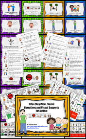 best images about special education teaching i can stay calm social narratives and visual supports for autism special ed