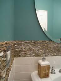 coastal bathroom designs: powder room coastal blue design pictures remodel decor and ideas page