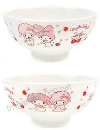 500-852 Sanrio My Melody Rice Bowl/Tea Bowl Cherry bspsss6no2.edu.in
