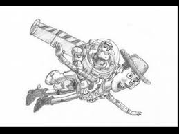 Extraordinary Toy Story Woody And Buzz Drawings With Buzz