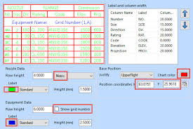 Nozzle Chart Metric How To Change Nozzle Chart Settings In Openplant