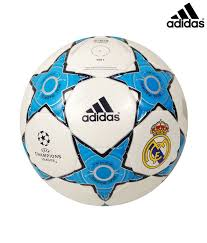adidas real madrid leather football size 5 at best on snapdeal