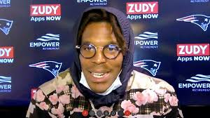 Cameron jerrell newton is an american football quarterback for the new england patriots of the national football league. Cam Newton Says He Wakes Up Mad In New England But He Mostly Is Playing Nice