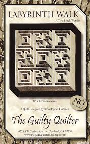 Labyrinth Quilt Pattern Free Best EQuilter Labyrinth Walk Quilt Pattern By Christopher Florence