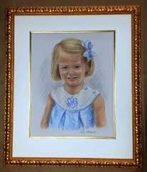 filed under conservation framing framed pastel portrait tagged with portrait framing