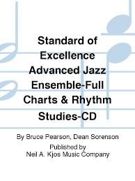 Jazz Charts Standard Of Excellence Advanced Jazz Ensemble Full Charts