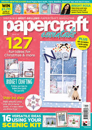 Tonic Studios Design Collection Magazine Papercraft Essentials Papercrafte_mag Twitter