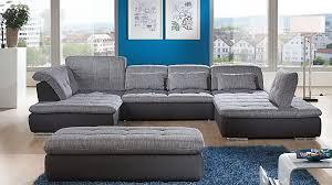 Ecksofa In Uform Als Gemütliche Wohnlandschaft Couch