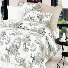 ivory rose 100 cotton 4pc comforter set twin size