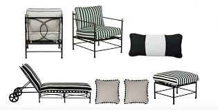 black or white furniture. frances lounge chair whiteblack 899 greenwhite sunbrella outdoor lumbar pillow blackwhite 89 chaise black or white furniture s