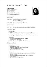 Format For Curriculum Vitae Beauteous Curriculum Formats Engneeuforicco