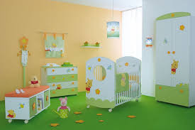 bedroom winnie the pooh for baby nursery decor with green color schemes simple baby boy baby nursery furniture designer