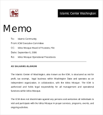 memos samples 15 professional memo templates free sample example format