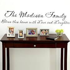 on personalized vinyl wall art message with personalized vinyl wall art message 11 x 55